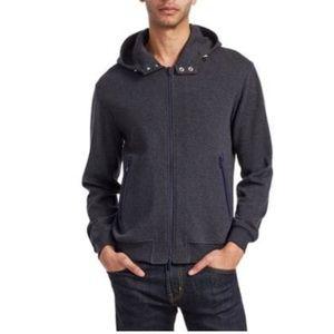 NWT Brunello Cucinelli hooded sweatshirt grey